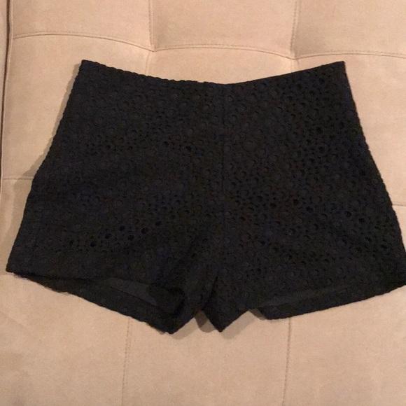 Banana Republic Pants - Banana Republic black shorts
